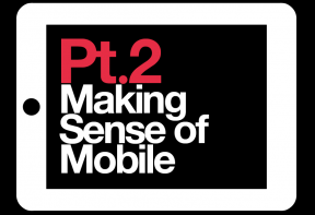 Making Sense of Mobile